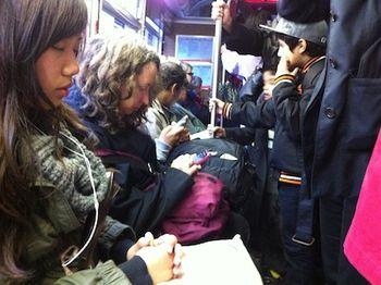 Iphone-bus-ride